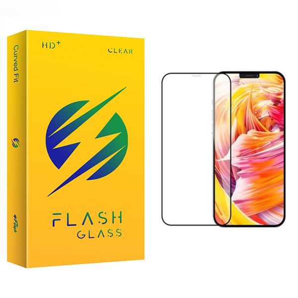 محافظ صفحه نمایش فلش مدل +HD مناسب برای گوشی موبایل اپل iPhone 12 mini