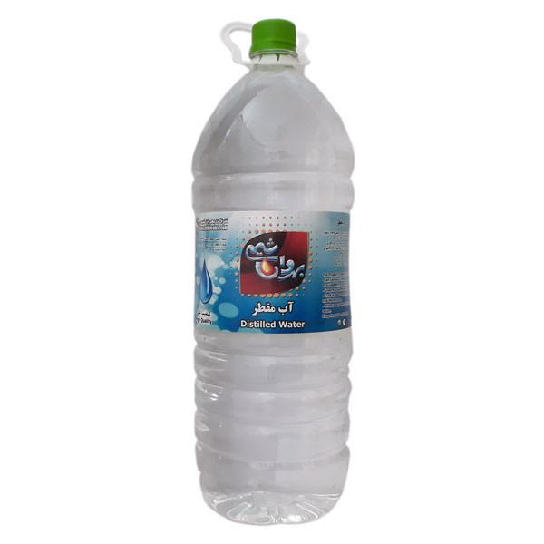آب مقطر بهروان شیمی مدل AB30 حجم 3000 میلی لیتر