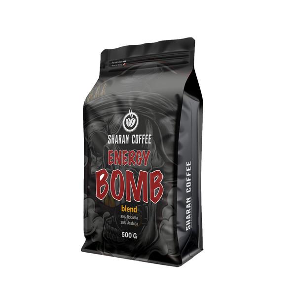 دانه قهوه ترکیبی شاران سری بمب انرژی - 500 گرم