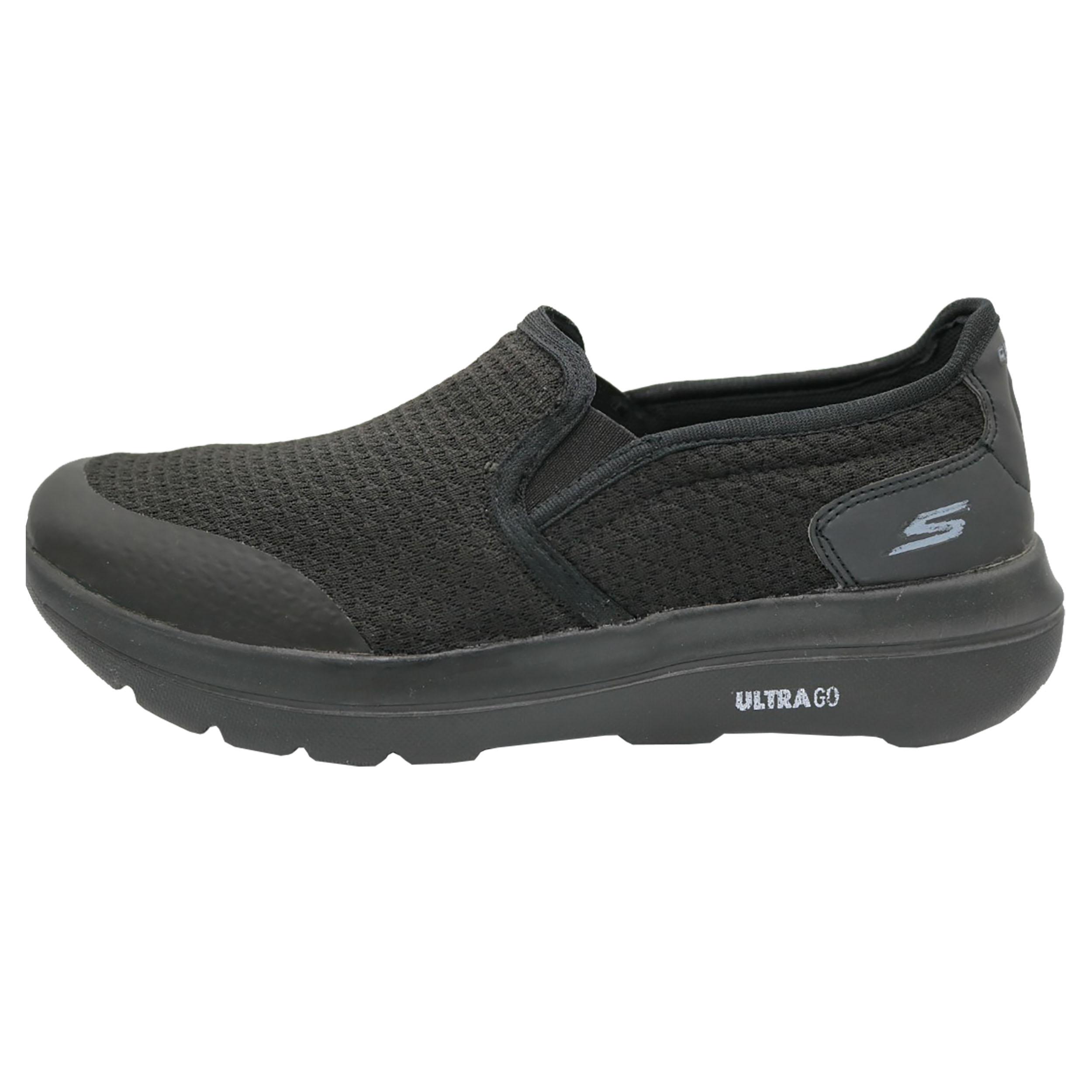 کفش پیاده روی مردانه اسکچرز مدل گووالک رنگ مشکی