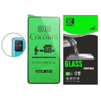 محافظ صفحه نمایش روبیکس مدل CR-A51 مناسب برای گوشی موبایل سامسونگ Galaxy A51 به همراه محافظ لنز دوربین