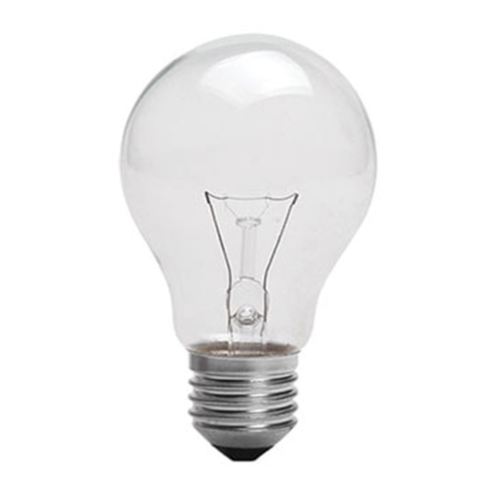 لامپ 100 وات افروغ مدل شفاف پایه E27 بسته 10 عددی