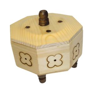 صندوق چوبی مدل شکلات خوری سپیدار