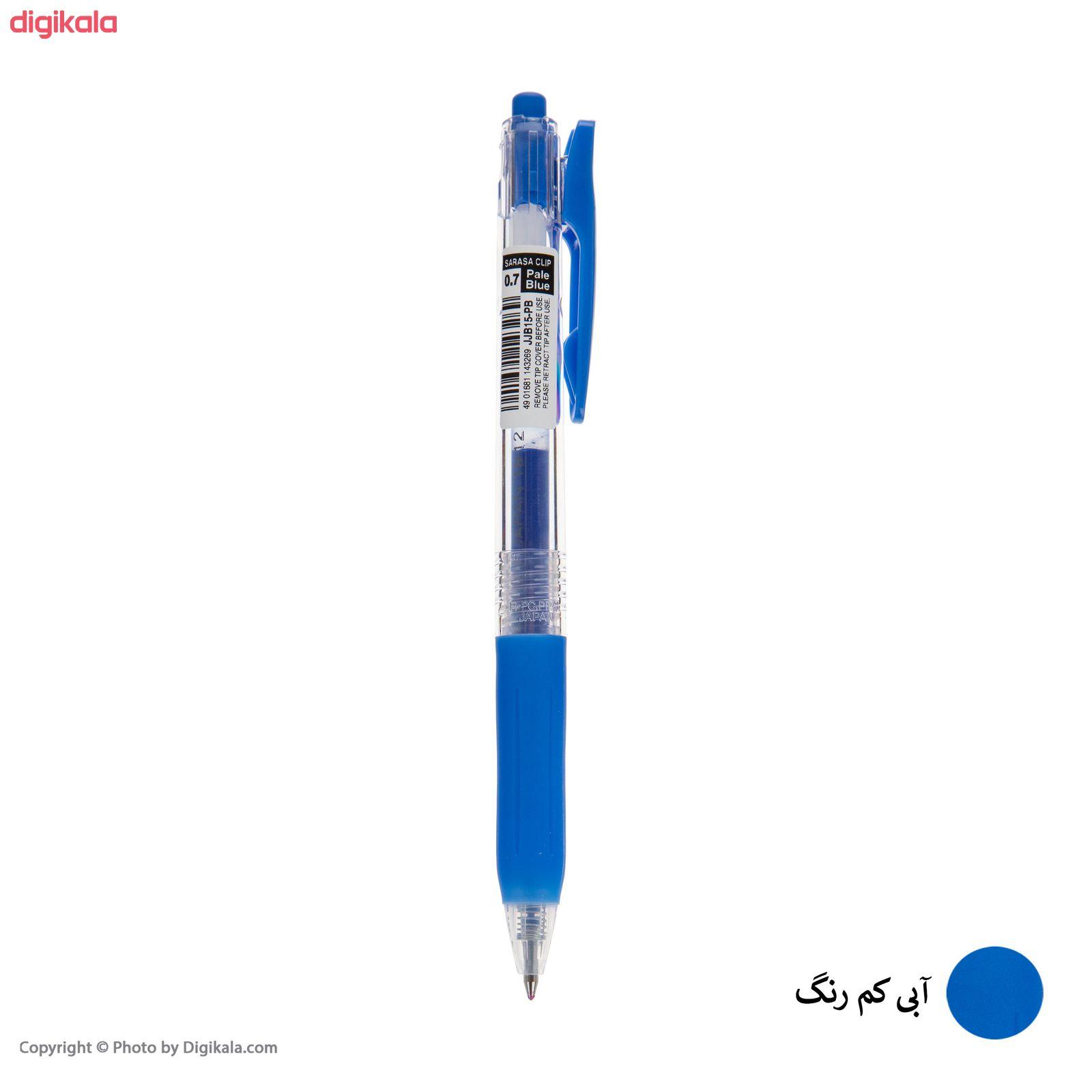 روان نویس زبرا مدل Sarasa Clip با قطر نوشتاری 0.7 main 1 1