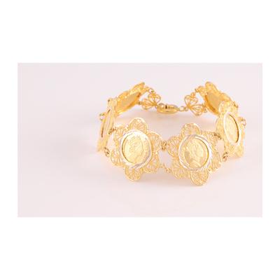 دستبند طلا 18 عیار زنانه کد G703