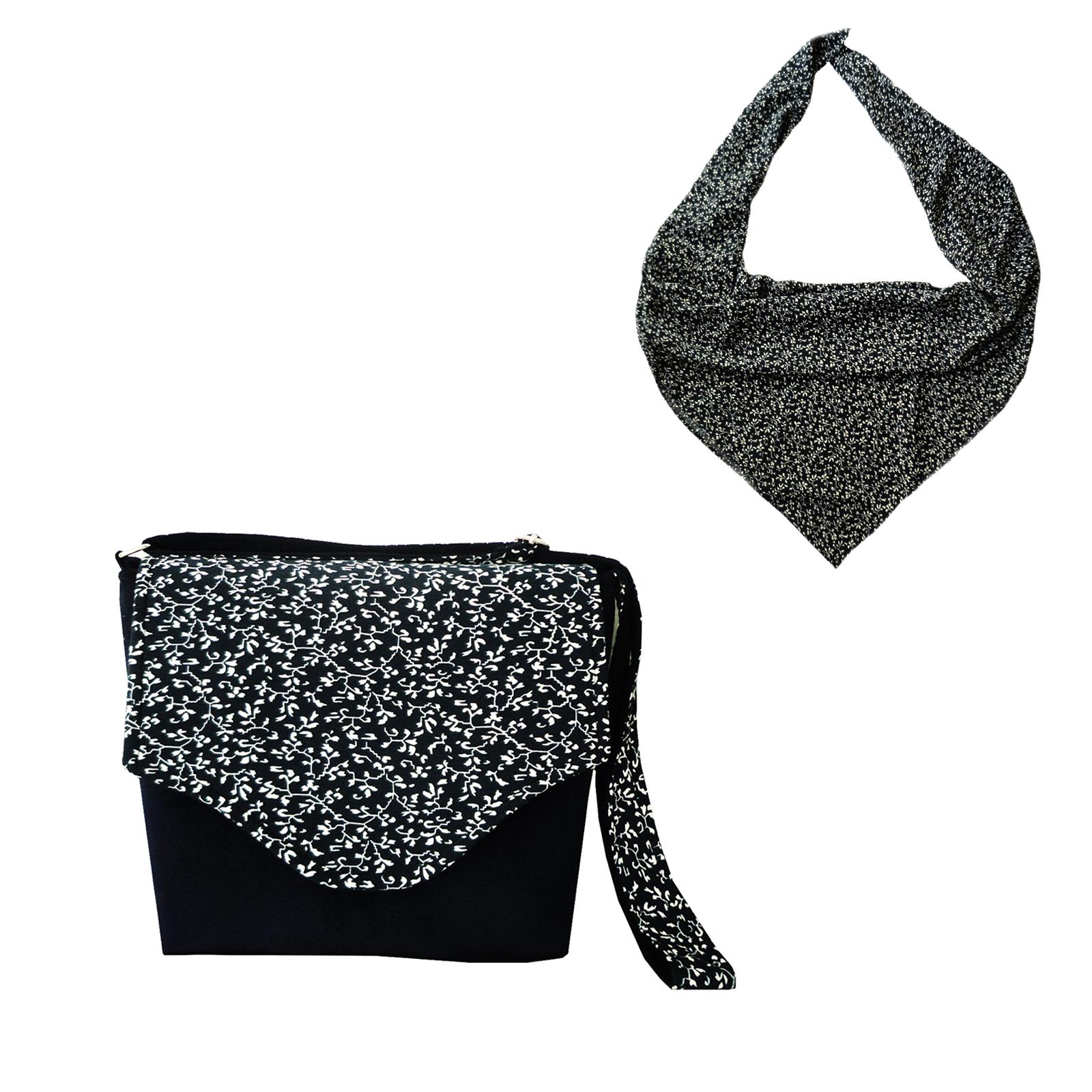ست کیف و روسری زنانه مدل 268