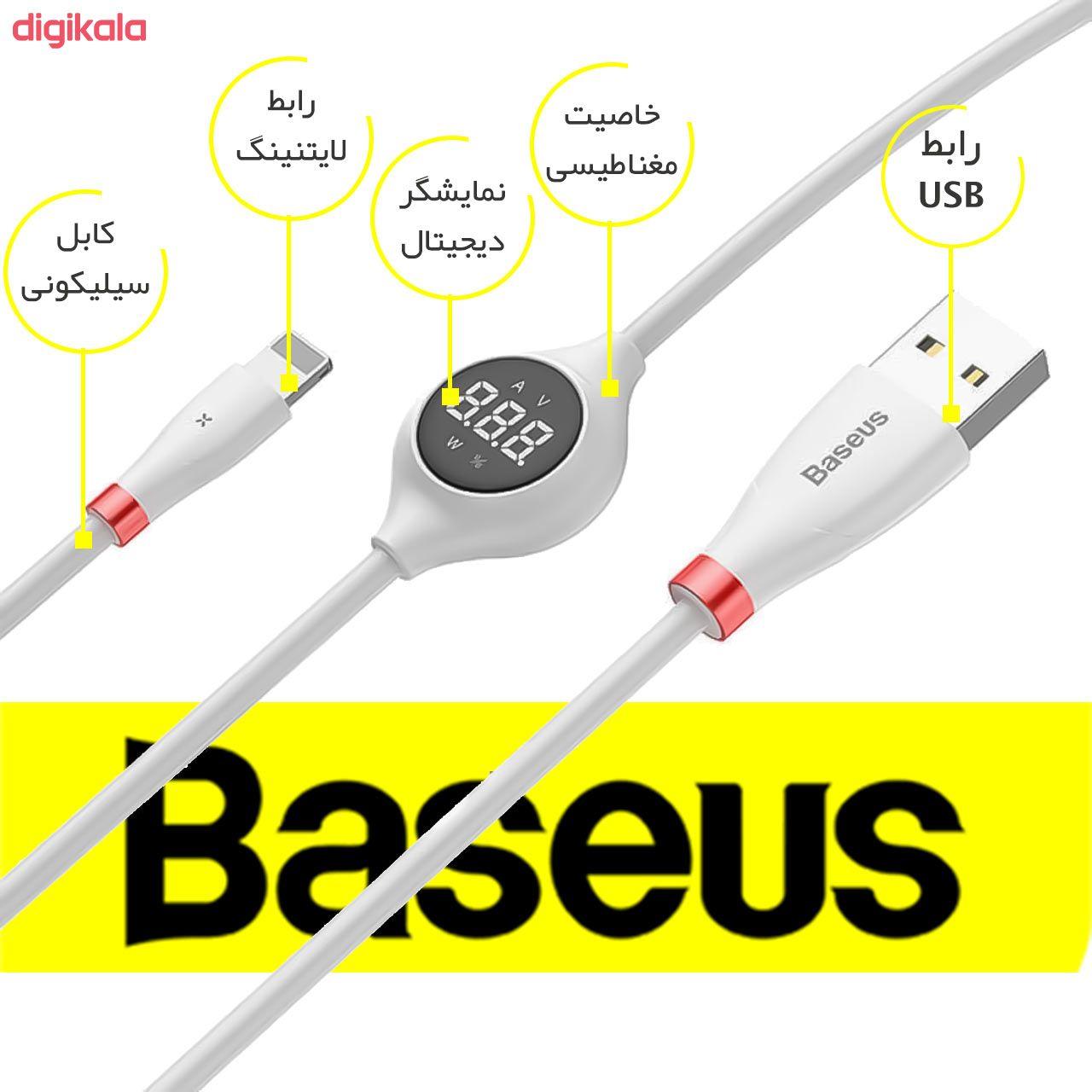 کابل تبدیل USB به لایتنینگ باسئوس مدل CALEYE طول 1.2 متر main 1 1