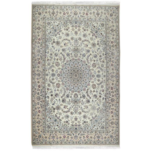 فرش دستبافت شش متری طرح لچک ترنج کد 991129