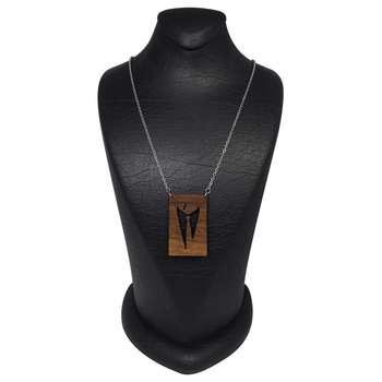 گردنبند مردانه سورئال دیزاین مدل god father