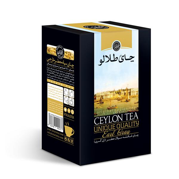 چای سیاه شکسته عطری سیلان صنایع غذایی طلالو - 100گرم