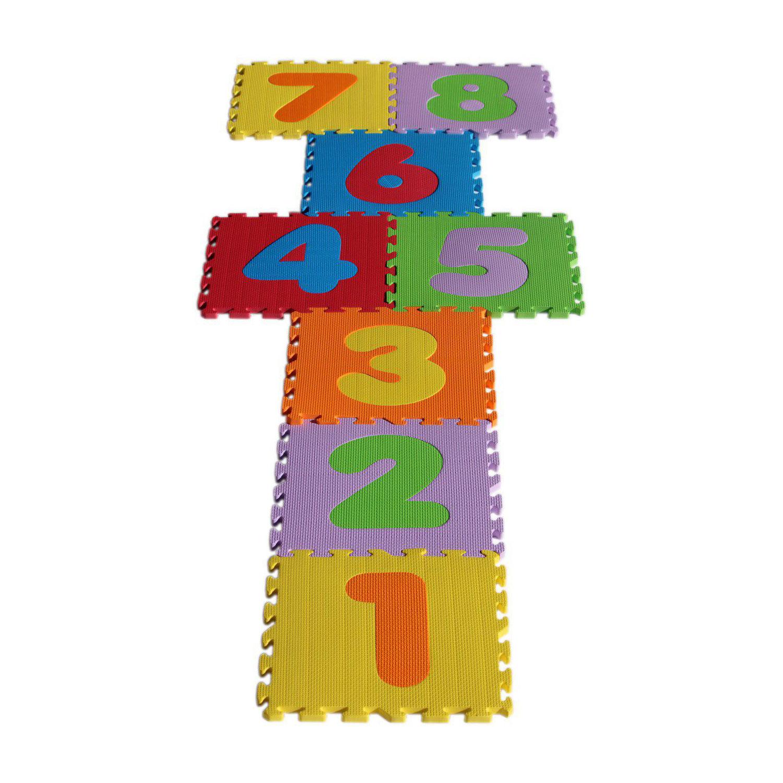 تشک بازی بافوم مدل L03 بسته 8 عددی