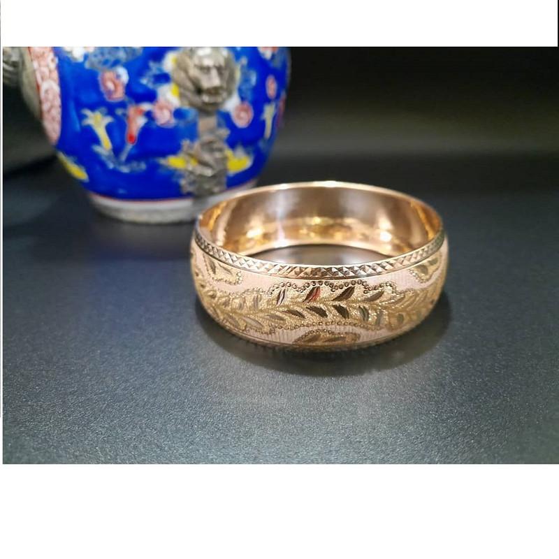 النگو طلا 18 عیار زنانه گالری یار طلا کد AL35-G-4