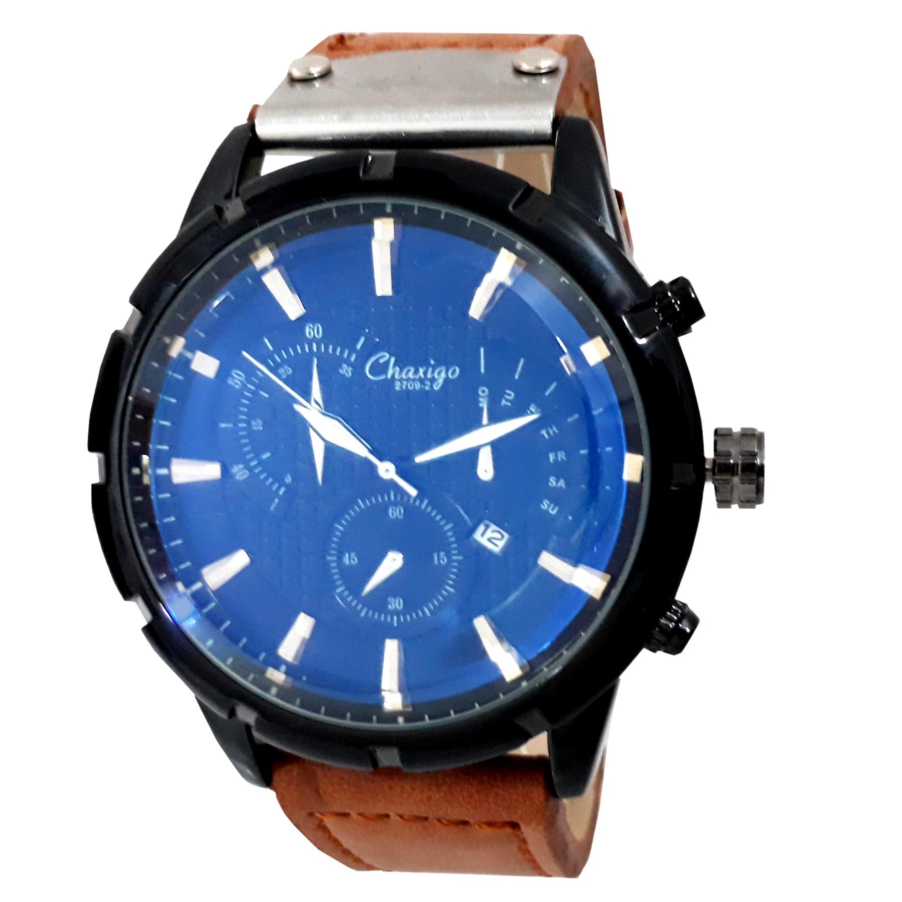 قیمت و خرید                      ساعت مچی عقربهای مردانه چاکسیگو مدل 2709-2 کد s500
