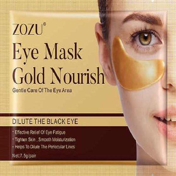 ماسک زیر چشم زوزو مدل طلا وزن 7.5 گرم -  - 1