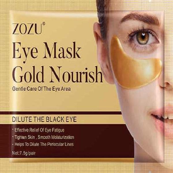ماسک زیر چشم زوزو مدل طلا وزن 7.5 گرم