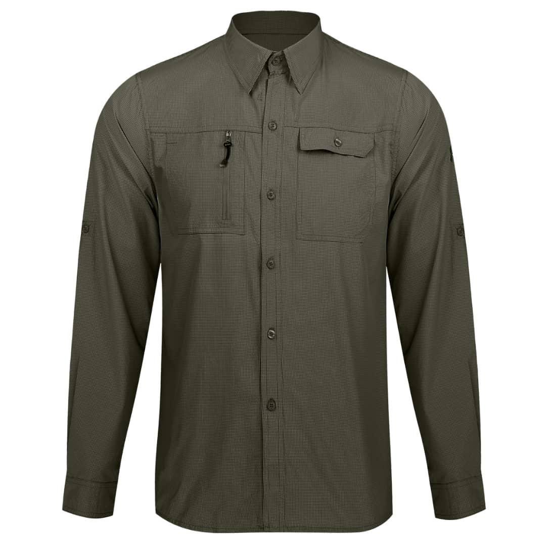 پیراهن آستین بلند مردانه آندر آرمور مدل AN-8890