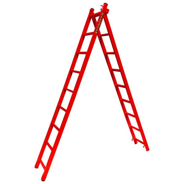 نردبان 18 پله ماندگار مدل صدف