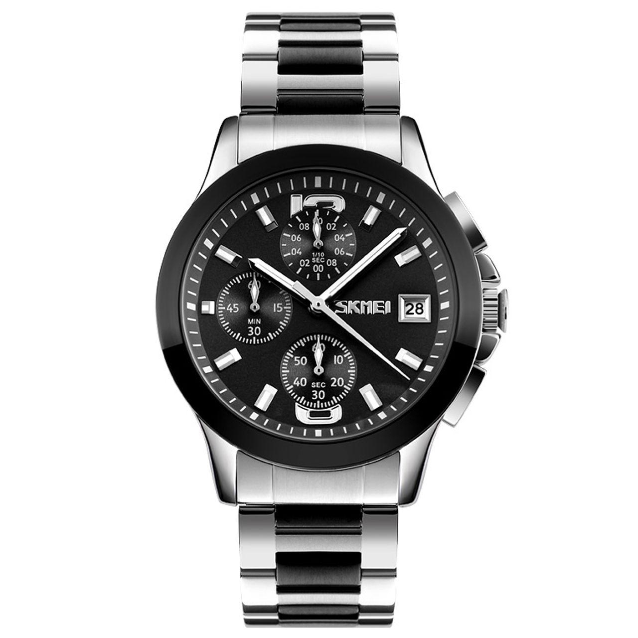 ساعت مچی عقربه ای مردانه اسکمی مدل 9126M-NP -  - 2