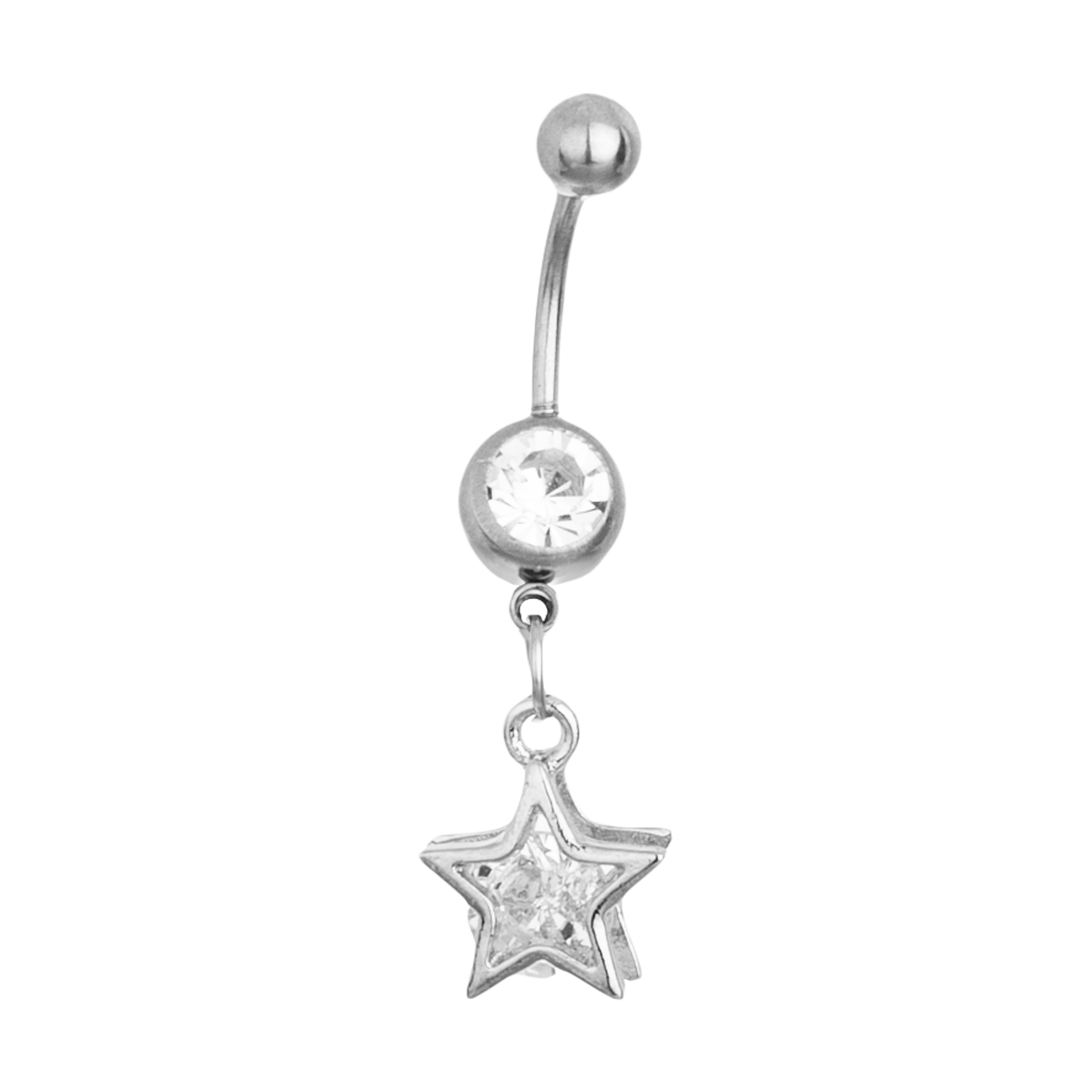 پیرسینگ بدن زنانه طرح ستاره کد Mhr-482
