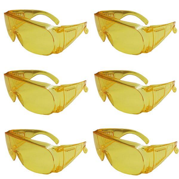 عینک ایمنی مدل E367 مجموعه 6 عددی