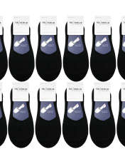 جوراب زنانه مستر جوراب کد BL-MRM 256 بسته 12 عددی -  - 1