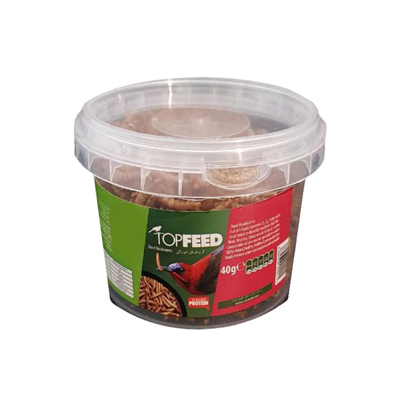 غذای تاپ فید مدل Meal Worm وزن 40 گرم