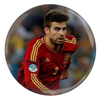 پیکسل طرح بازیکن جرارد پیکه بازیکن فوتبال بارسلونا اسپانیا مدل S4332