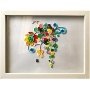 تابلو ملیله کاغذی مدل انگور