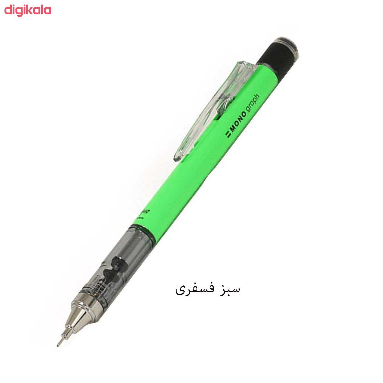 مداد نوکی 0.5 میلی متری تومبو مدل MONO GRAPPH main 1 12