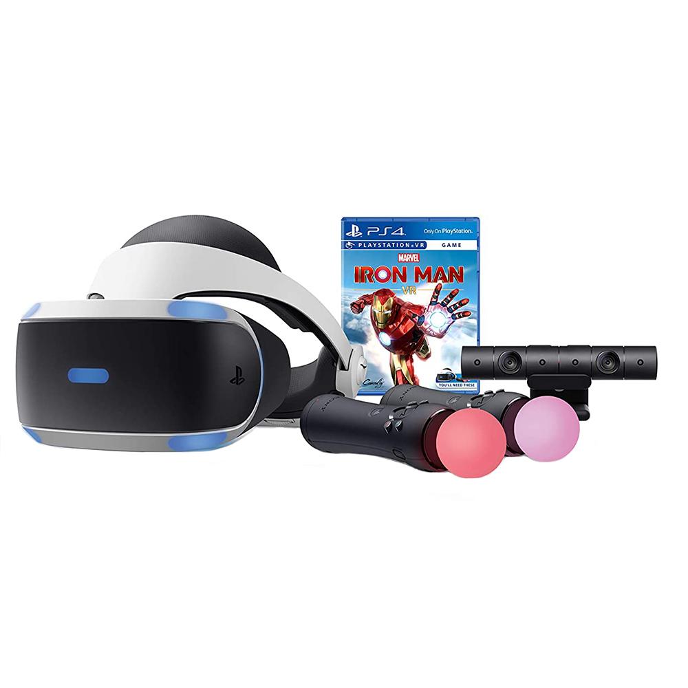 مجموعه عینک واقعیت مجازی سونی مدل Playstation ZVR2 به همراه بازی Ironman