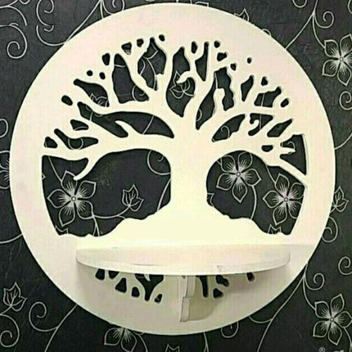 شلف دیواری طرح درخت کد 004