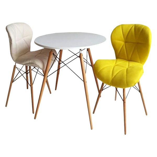 میز و صندلی ناهارخوری 2 نفره مدل 54