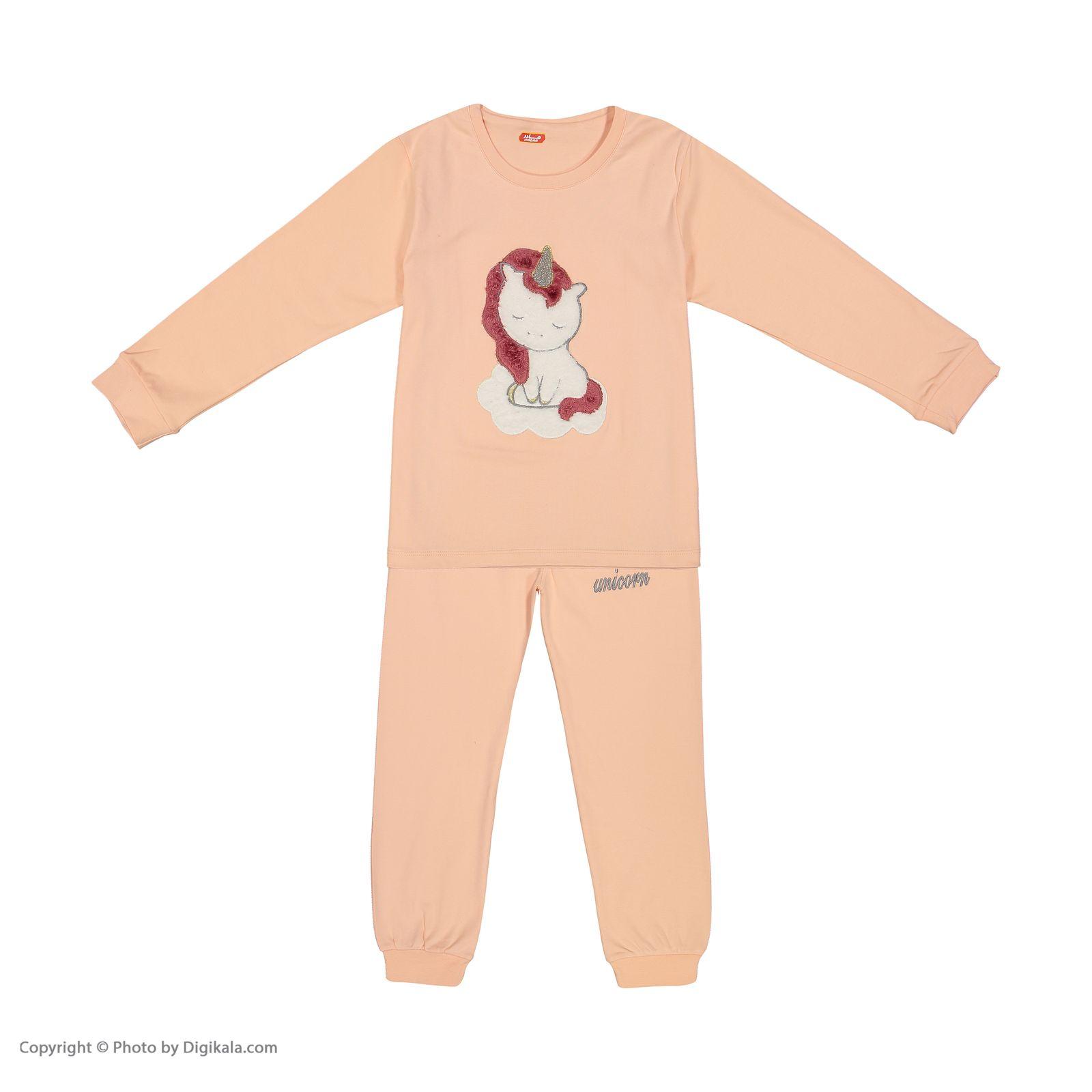 ست تی شرت و شلوار دخترانه مادر مدل 303-80 main 1 1