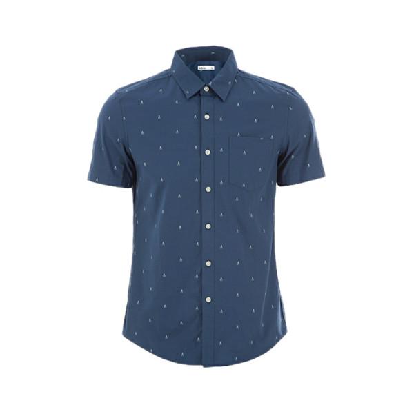 پیراهن آستین کوتاه مردانه بالنو مدل 5547
