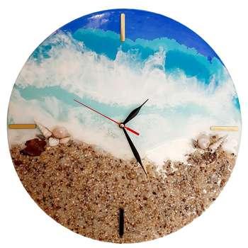 ساعت دیواری طرح دریا کد DS_291