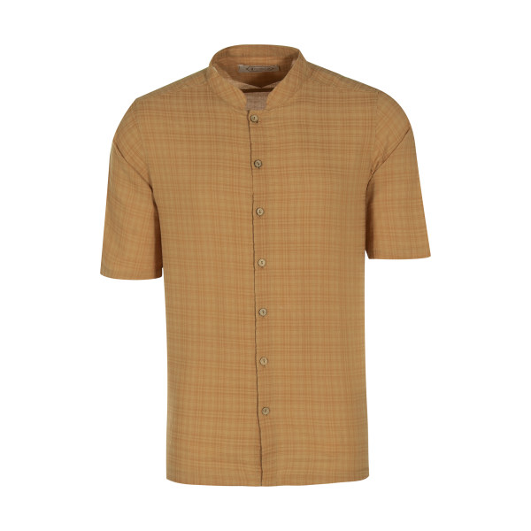 پیراهن مردانه تن درست مدل 104-MUSTARD