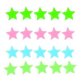 استیکر کودک طرح ستاره شب تاب کد 4CS بسته 60 عددی