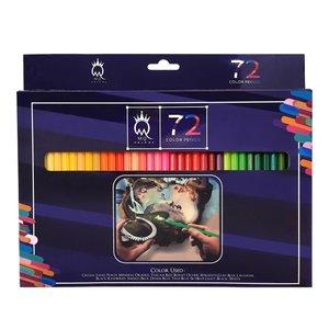 مداد رنگی 72 رنگ ام کیو مدل 00072G