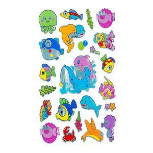 استیکر کودک طرح جانوران دریایی کد st11