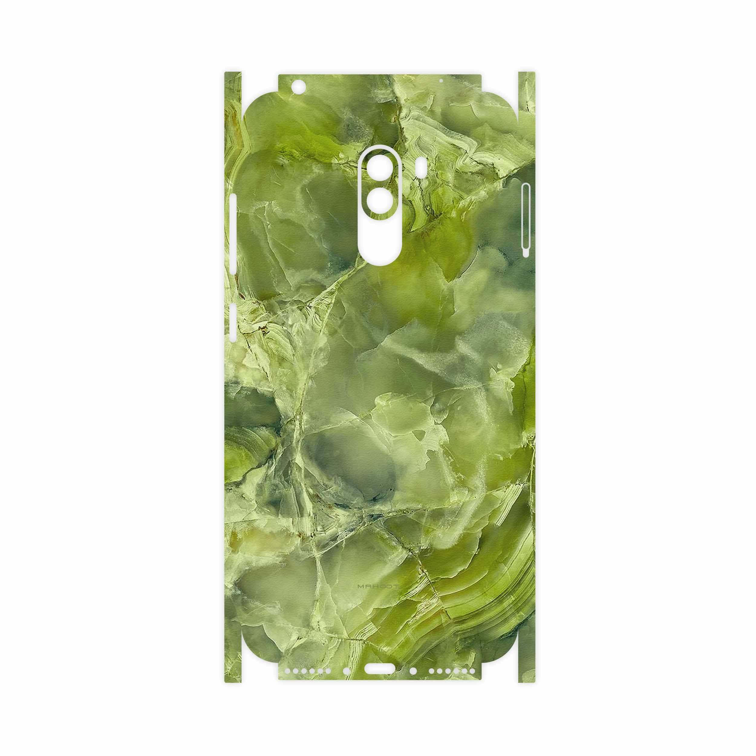 برچسب پوششی ماهوت مدل Green Crystal Marble-FullSkin مناسب برای گوشی موبایل شیائومی POCOPHONE F1