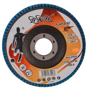 سمباده فلاپ دیسک بی کی اچ مدل F115P60