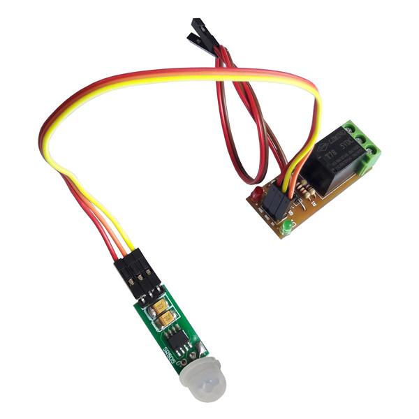 سنسور تشخیص حرکت مادون قرمز با رله مهندسیکا  مدل SR505-PIR