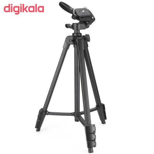 سه پایه دوربین نست مدل NT-510 به همراه گیره نگهدارنده موبایل main 1 4
