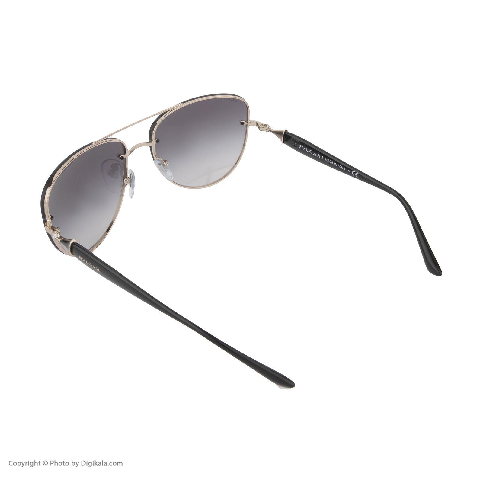 عینک آفتابی مردانه بولگاری مدل BV6086B 20148G -  - 5