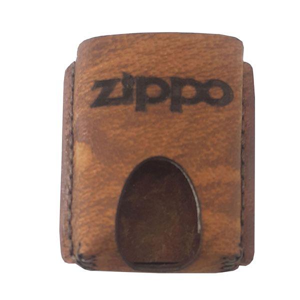 کیف فندکچرمی زیپو کد 15