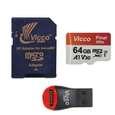 کارت حافظه microSDXC ویکو من مدل Final 600X کلاس 10 استاندارد UHS-I U3 سرعت 90MBps ظرفیت 64گیگابایت همراه با کارت خوان thumb 1