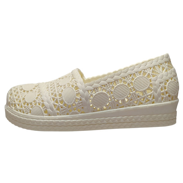کفش ساحلی زنانه مدل پریناز رنگ سفید