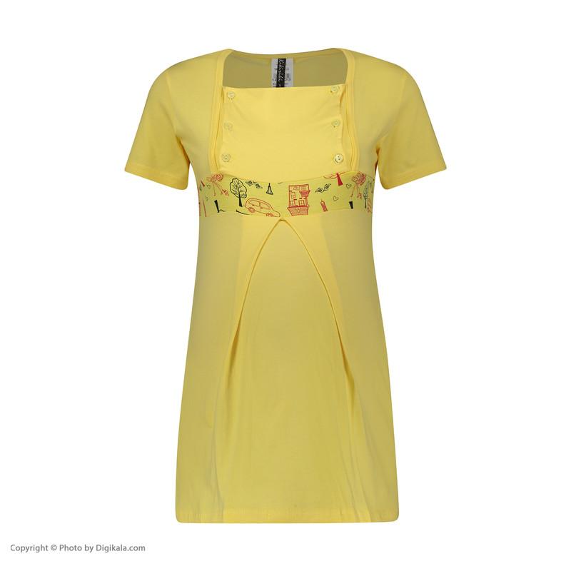 ست 3 تکه لباس بارداری کیکی رایکی مدل BB6303-003