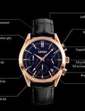 ساعت مچی عقربه ای مردانه اسکمی مدل 9127M-NP -  - 3