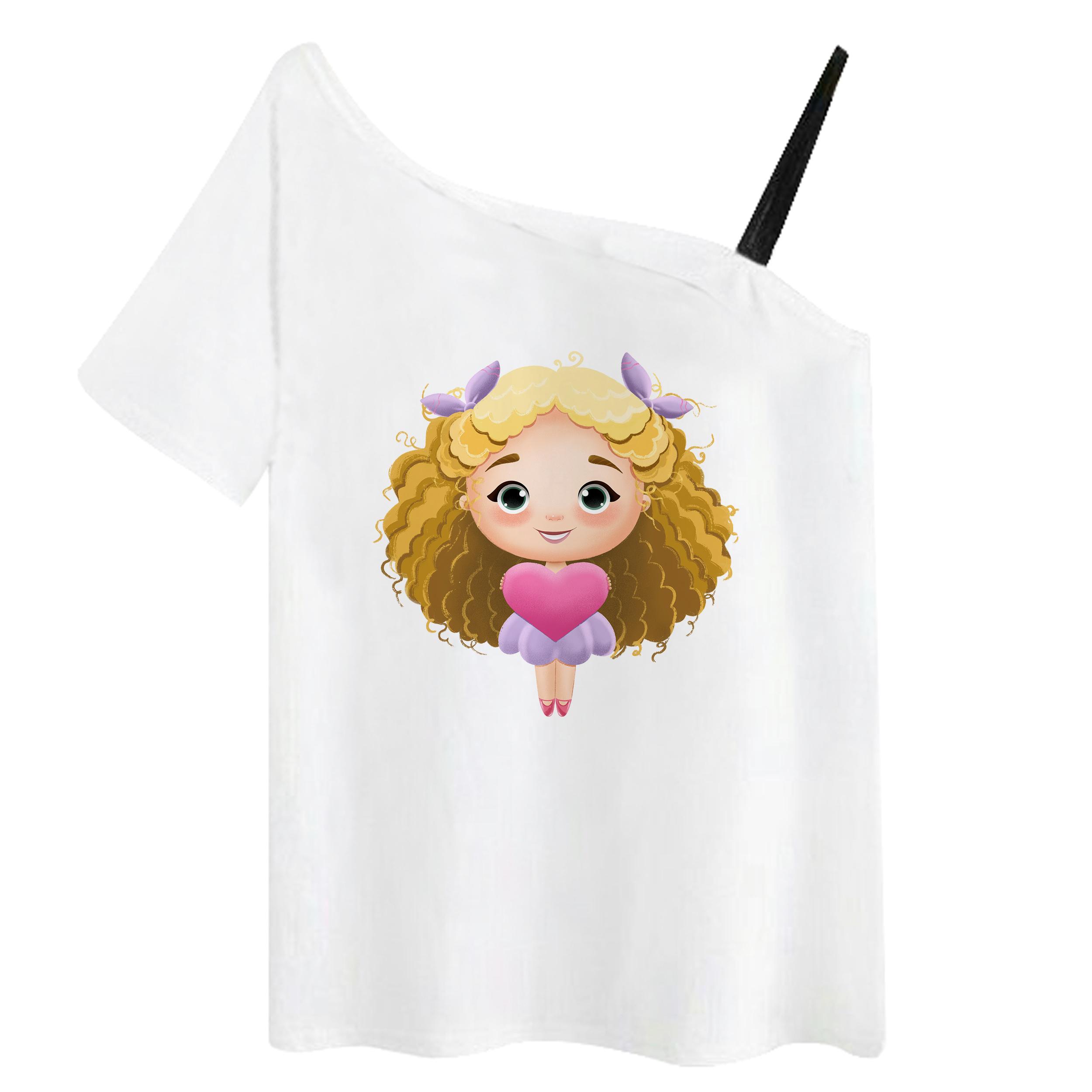 تی شرت آستین کوتاه زنانه مدل RR991106-001 thumb